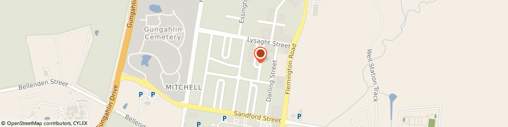 Route/map/directions to N & D Auto Service, 2911 Mitchell, Baillieu Circuit