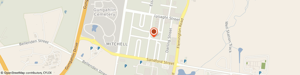 Route/map/directions to Westpac Mitchell, 2911 Mitchell, Heffernan St & Brookes St