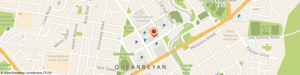 Route/map/directions to Shell Queanbeyan, 2620 Queanbeyan, 30 Morriset Street
