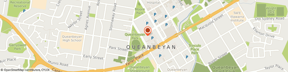 Route/map/directions to BP Lowe Street, 2620 Queanbeyan, 2 - 4 Lowe St