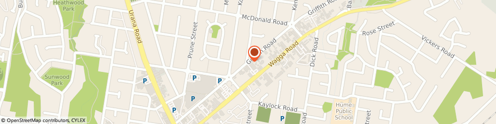 Route/map/directions to Lavington Branch Library, 2641 Lavington, 366 Griffith Rd