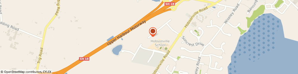Route/map/directions to Green Group Collective NZ, 0618 Hobsonville, 38-40 Westpoint Drive