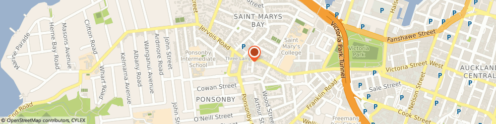 Route/map/directions to Absolute Tan, 1011 Auckland, 100 COLLEGE HILL PONSONBY