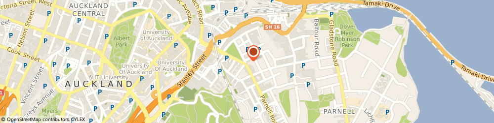 Route/map/directions to Eurekly Ltd, 1052 Auckland, 60 Parnell Rd, Parnell