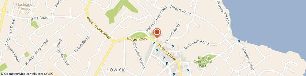 Route/map/directions to Crawford Specialist Centre, 2014 Howick, 12 Picton Street
