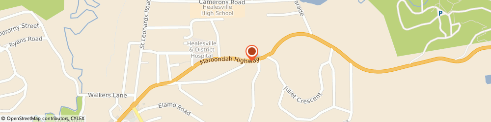 Route/map/directions to Red Bridge Family Acupuncture and Chinese Medicine Healesville, 3777 Healesville, 505 Maroondah Hwy
