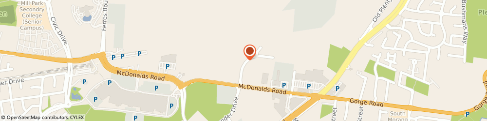 Route/map/directions to The Guitar Dojo, 3752 South Morang, 5/9 Danaher Drive