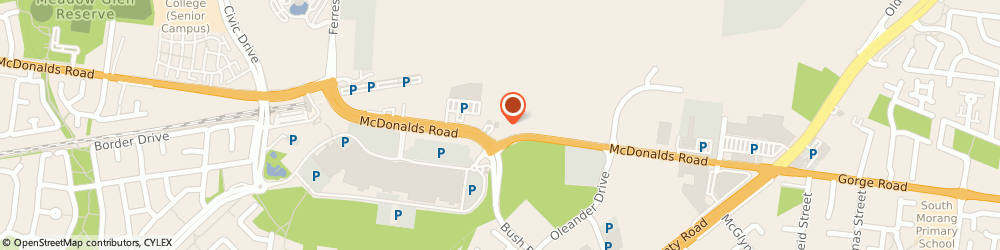Route/map/directions to Coles Express Fuel Station South Morang, 3752 South Morang, 350 Mcdonalds Rd