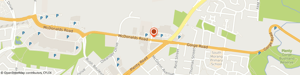 Route/map/directions to Bridgestone South Morang, 3752 South Morang, 1/20 Murdoch Road