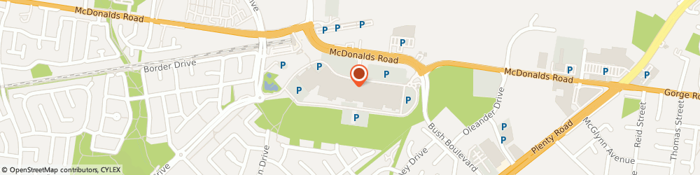 Route/map/directions to Total Car Services, 3752 South Morang, 350 Mcdonalds Road