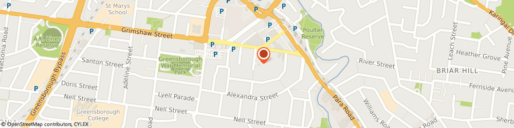 Route/map/directions to Chirocentre- Greensborough, 3088 Greensborough, 13 ELDALE AVE