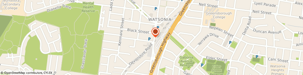 Route/map/directions to ANZ ATM, 3087 Watsonia, 13-15 Watsonia Rd