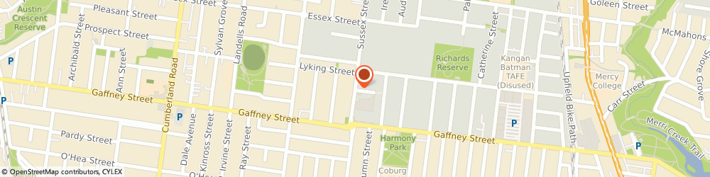 Route/map/directions to Tradelink Plumbing Supplies COBURG, 3058 Coburg North, 130 Sussex Street