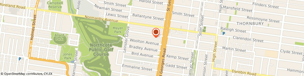 Route/map/directions to Tradelink Plumbing Supplies FITZROY NORTH, 3068 Fitzroy North, 378-390 Saint Georges Road