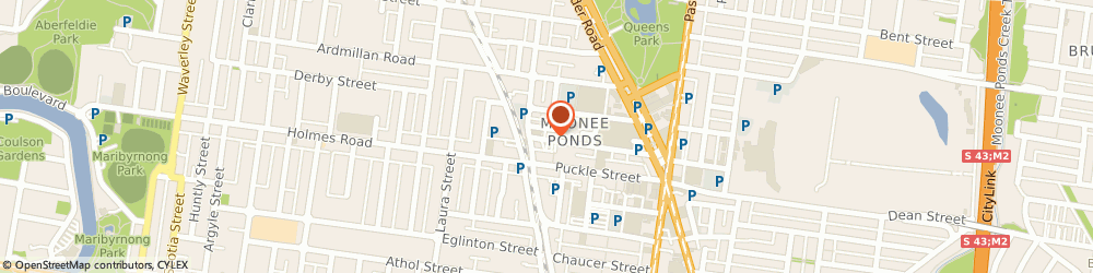 Route/map/directions to Spa Bark Dog Grooming & Spa, 3039 Moonee Ponds, 44 Hall St