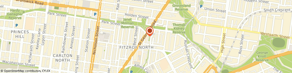 Route/map/directions to Curves Fitzroy North, 3068 Fitzroy North, 278 St. Georges Road