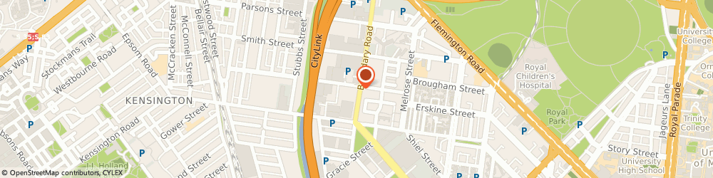 Route/map/directions to Tradelink Plumbing Supplies NORTH MELBOURNE, 3051 North Melbourne, 61 Boundary Road