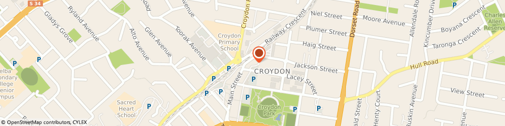Route/map/directions to Surtout Chiropractic, 3136 Croydon, 24 Main St