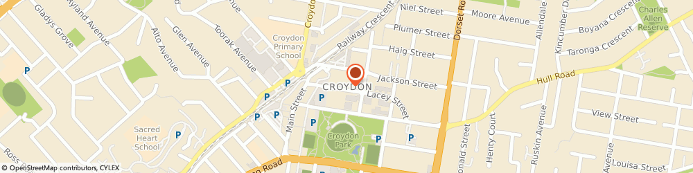 Route/map/directions to Croydon Chiropractic Clinic- Gentle Care, Back Pain, Neck Pain, Sport Injury, 3136 Croydon, 88/90 Main St