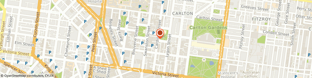 Route/map/directions to Gronomics Digital Marketing Agency Melbourne, 3053 Carlton, Suite 55, 139 Cardigan St