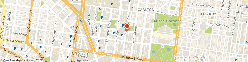 Route/map/directions to Diamond SEO, 3053 Carlton, Suite 34/135 Cardigan St