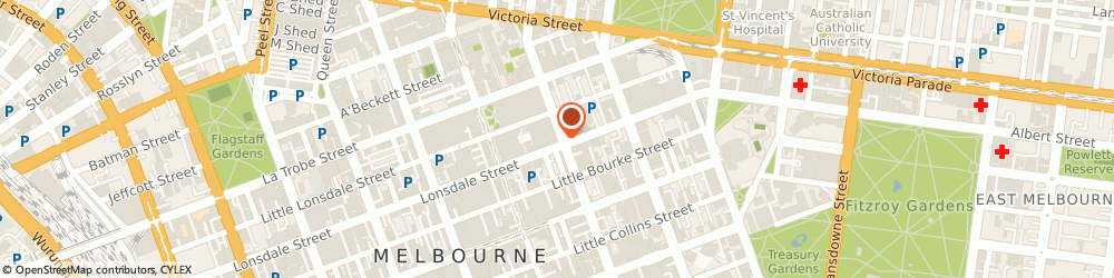Route/map/directions to Westpac Melbourne, 3000 Melbourne, 172-174 Lonsdale St