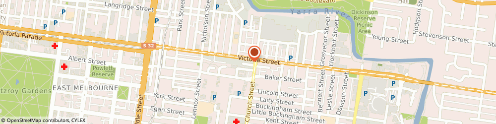 Route/map/directions to Yes Optus Richmond Victoria St, 3121 Richmond, 260B Victoria St