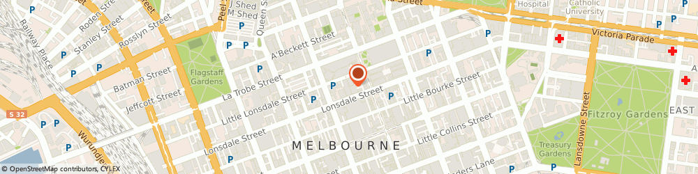 Route/map/directions to ANZ ATM, 3000 Melbourne, 300 Lonsdale St