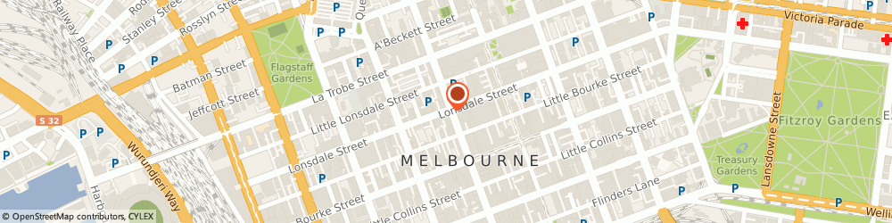 Route/map/directions to Westpac Melbourne, 3000 Melbourne, Lonsdale St