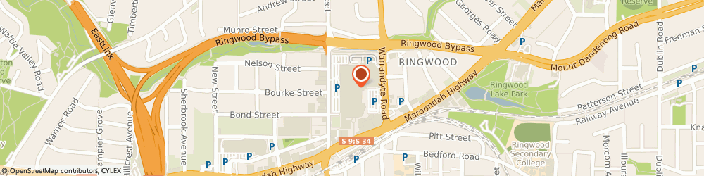 Route/map/directions to Rebel Sport (Ringwood Vic), 3134 Ringwood, 171-175 Maroondah Hwy