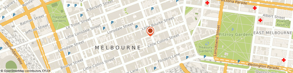 Route/map/directions to Westpac Financial Services Atm - Melbourne, 3000 Melbourne, 206 Bourke St