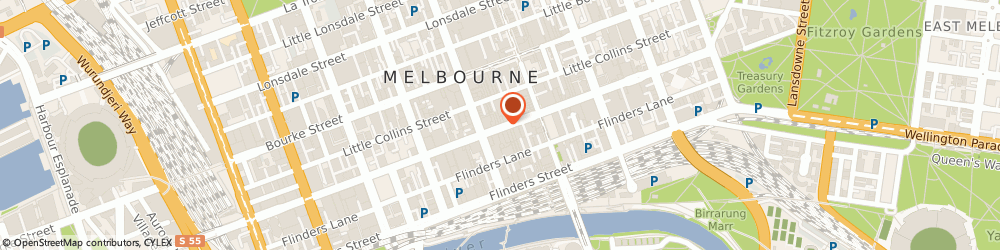 Route/map/directions to Westpac Financial Services Atm - Melbourne, 3000 Melbourne, 260 Collins St