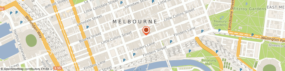 Route/map/directions to Precision Timing, 3000 Melbourne, LEVEL 6 294-296 COLLINS ST