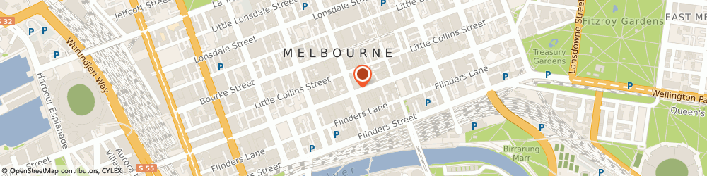 Route/map/directions to Yes Optus Melbourne Collins Street, 3000 Melbourne, 300 Collins St