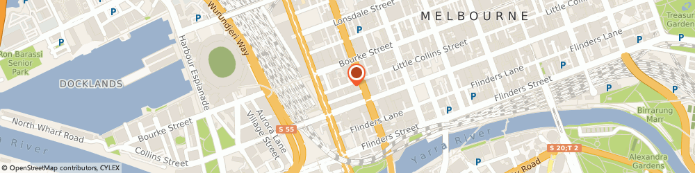 Route/map/directions to LEAFSCREENER, 3000 Melbourne, 170/585 Little Collins Street