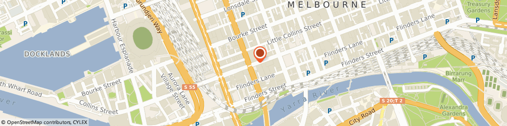 Route/map/directions to Westpac Melbourne, 3000 Melbourne, Food Court, 530 Collins St