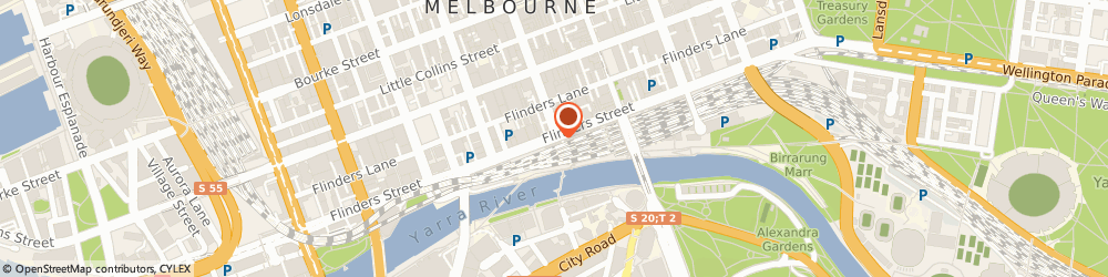 Route/map/directions to Irene The Clairvoyant (Melbourne Vic), 3000 Melbourne, STREET