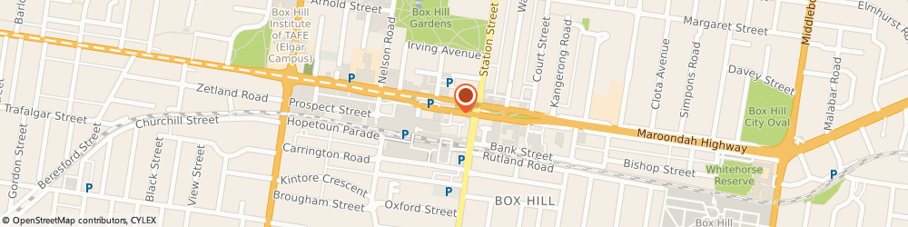 Route/map/directions to Smile Gallery Dental Clinic, 3128 Box Hill, 27 Carrington Rd