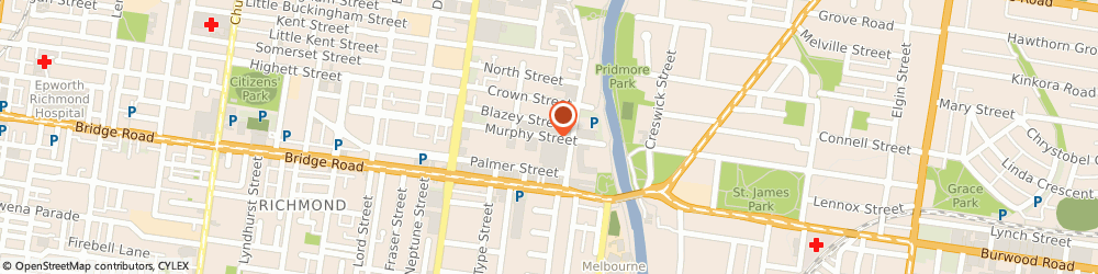Route/map/directions to Dormeuil, 3121 Richmond, STUDIO 112/ 91 MURPHY ST