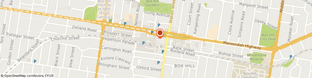 Route/map/directions to Westpac Box Hill, 3128 Box Hill, Atm 5 Near Coles 17 Market St