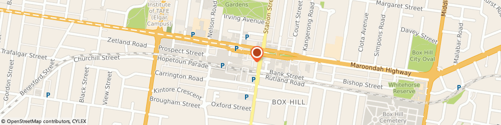 Route/map/directions to Westpac Box Hill, 3128 Box Hill, 16-20 Main St