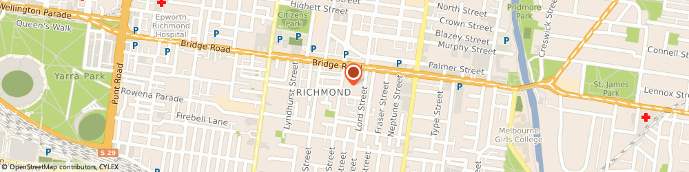 Route/map/directions to Sean Simmons Travel, 3121 Richmond, Suite 6 53 Coppin Street