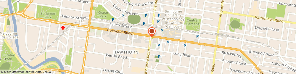 Route/map/directions to Kapitans, 3122 Hawthorn, 338 Burwood Road