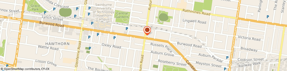 Route/map/directions to Dent Consulting and Legal, 3122 Hawthorn, Level 1/619 Burwood Rd