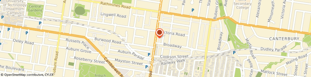 Route/map/directions to St George Bank The Well O/S ATM, 3124 Camberwell, 793 Burke Rd