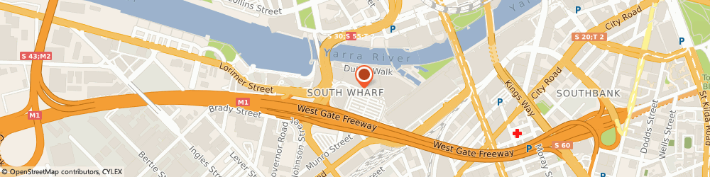 Route/map/directions to Cotton On, 3006 Melbourne, Shop B087 South Wharf Shopping Centre, 20 Convention Centre Pi