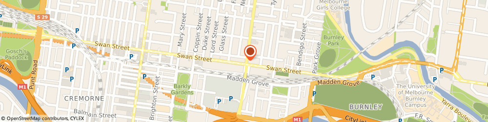 Route/map/directions to ANZ ATM, 3121 Richmond, 395 Swan St