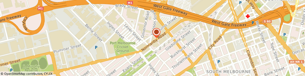 Route/map/directions to Tradelink Plumbing Supplies SOUTH MELBOURNE, 3205 South Melbourne, 280 Normanby Road