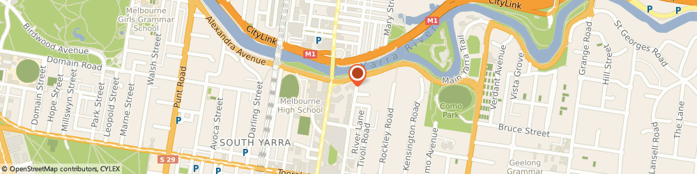 Route/map/directions to iRock Finishes, 3141 South Yarra, 701/101 River St