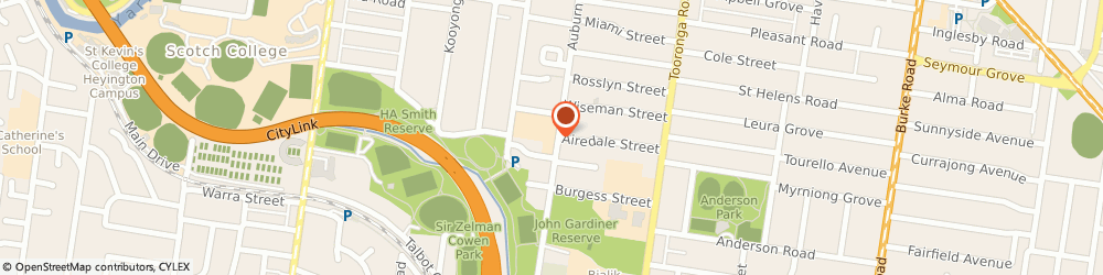 Route/map/directions to SiSU Health Group, 3122 Hawthorn, 442 Auburn Road
